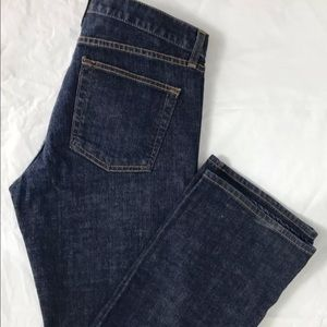J. CREW Bootcut Cotton Dark Wash Denim Jeans 32